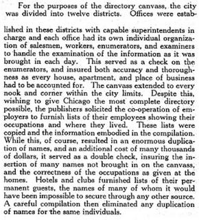 Information about the creation of the directory from page 7.